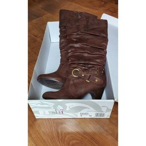Shi by journeys brown boots